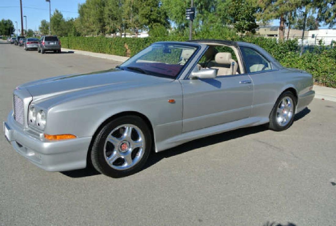1999 Silver Pearl Bentley Continental SC