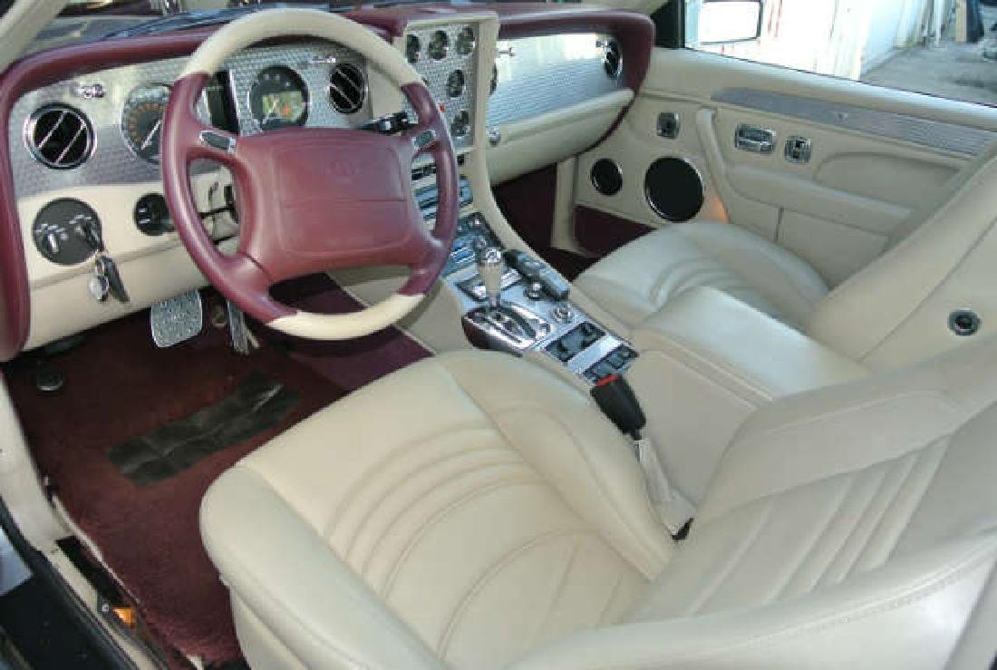 1999 Silver Pearl Bentley Continental SC - 5