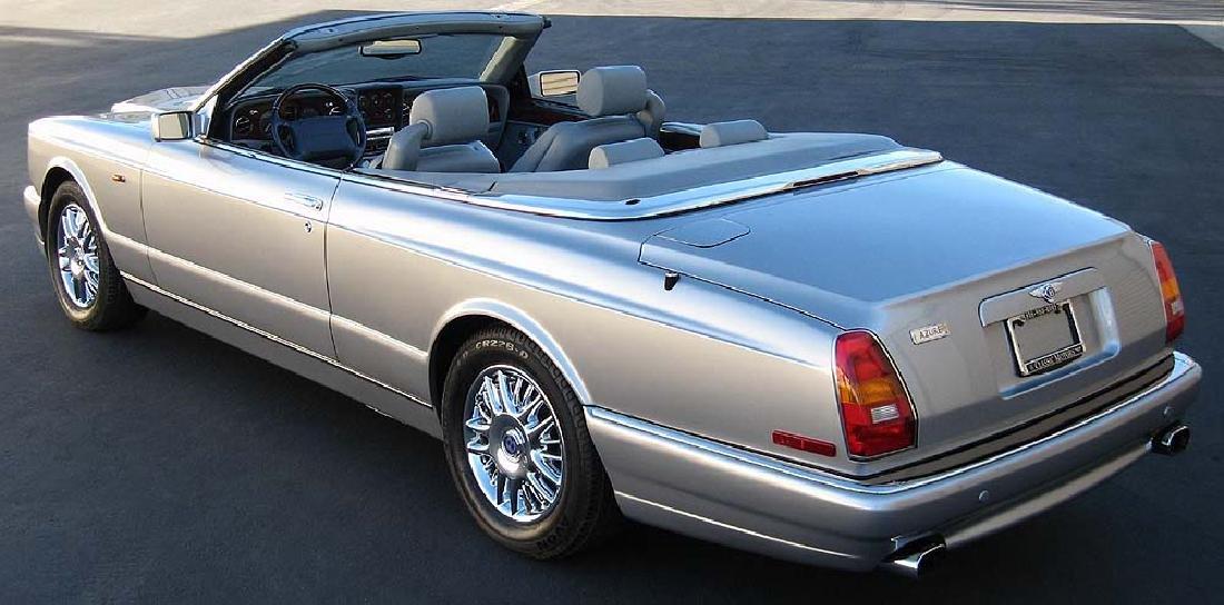 2001 Bentley Azure Convertible - 4