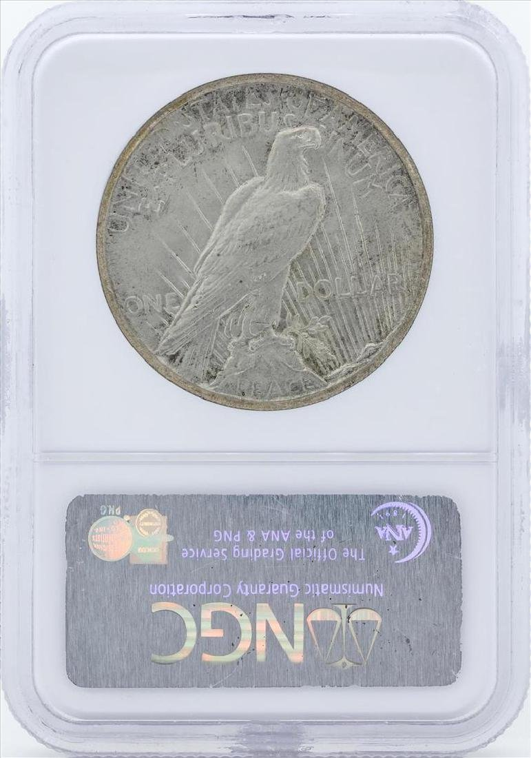 1928 $1 Peace Silver Dollar Coin NGC MS63 - 2