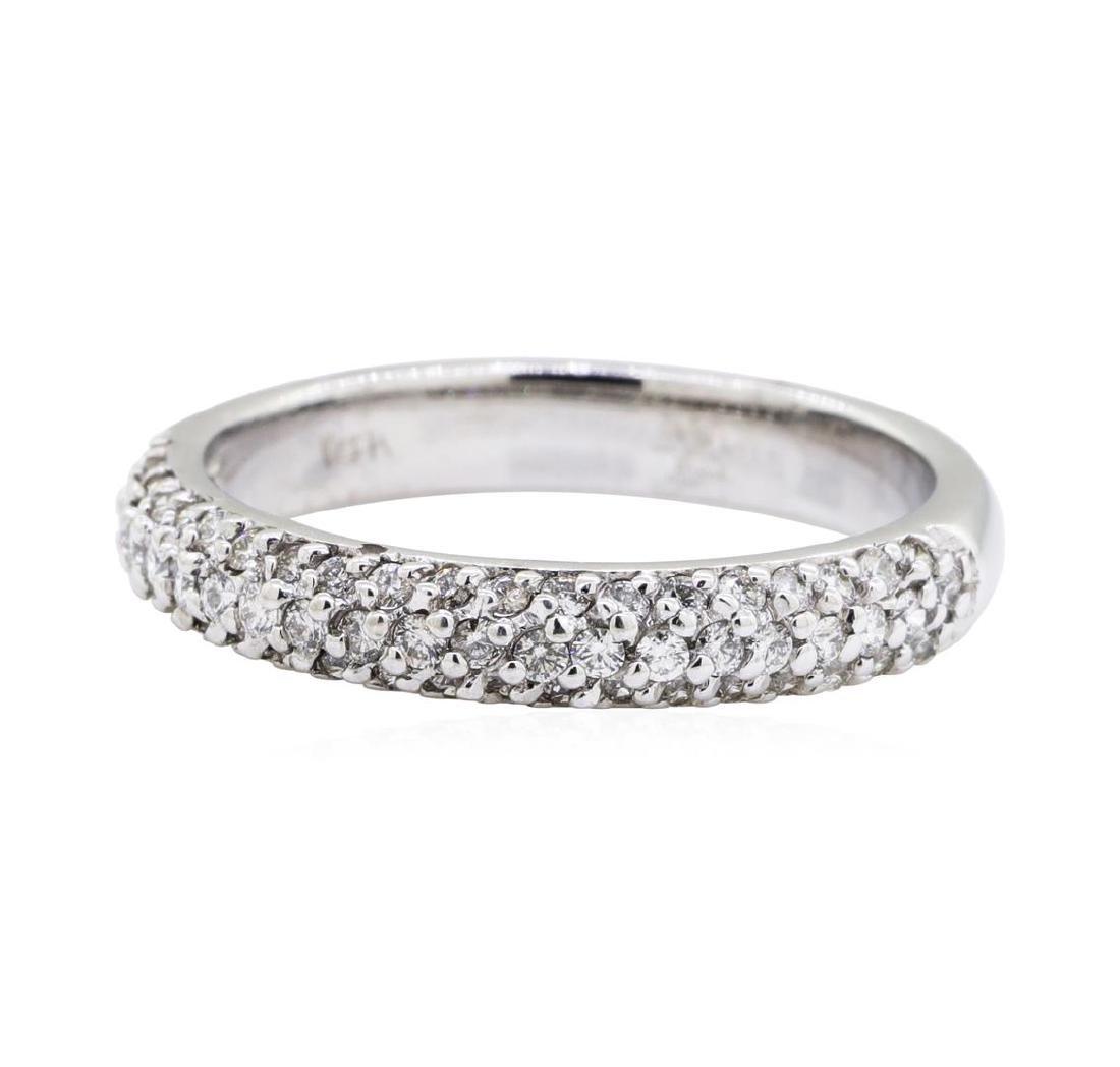 0.5 ctw Diamond Ring - 14KT White Gold - 2