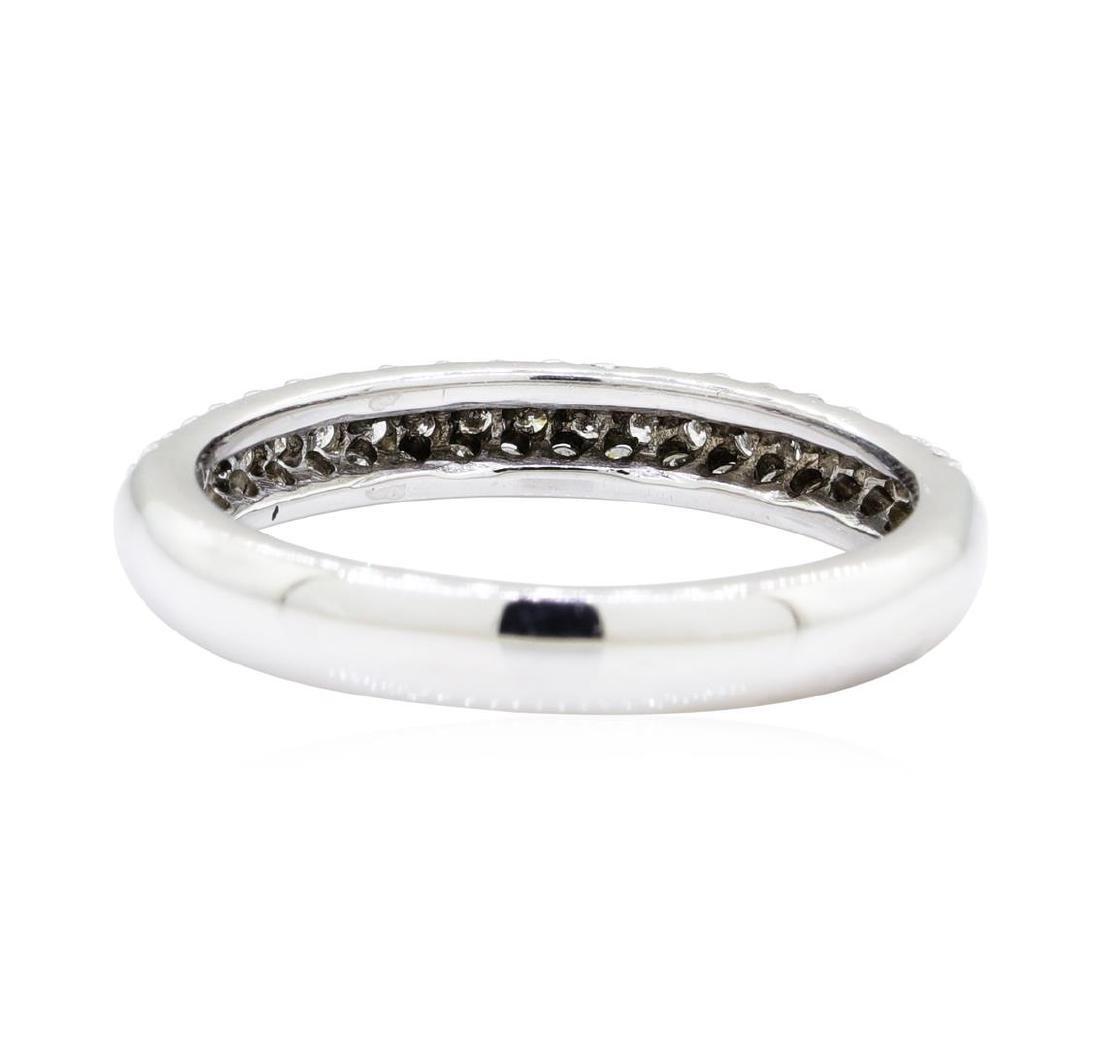0.5 ctw Diamond Ring - 14KT White Gold - 3