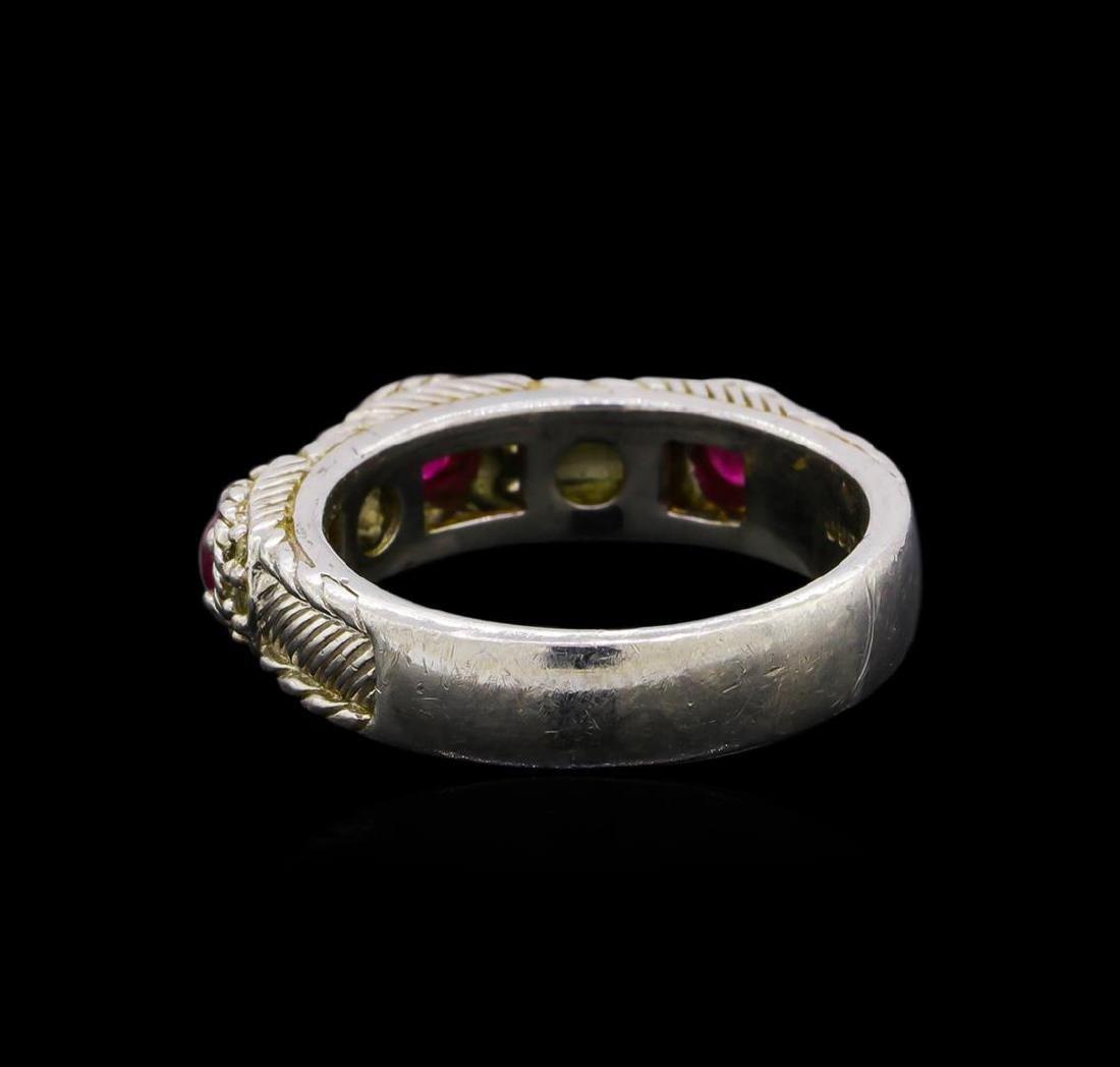 Judith Ripka Cubic Zirconia Ring - Sterling Silver - 4