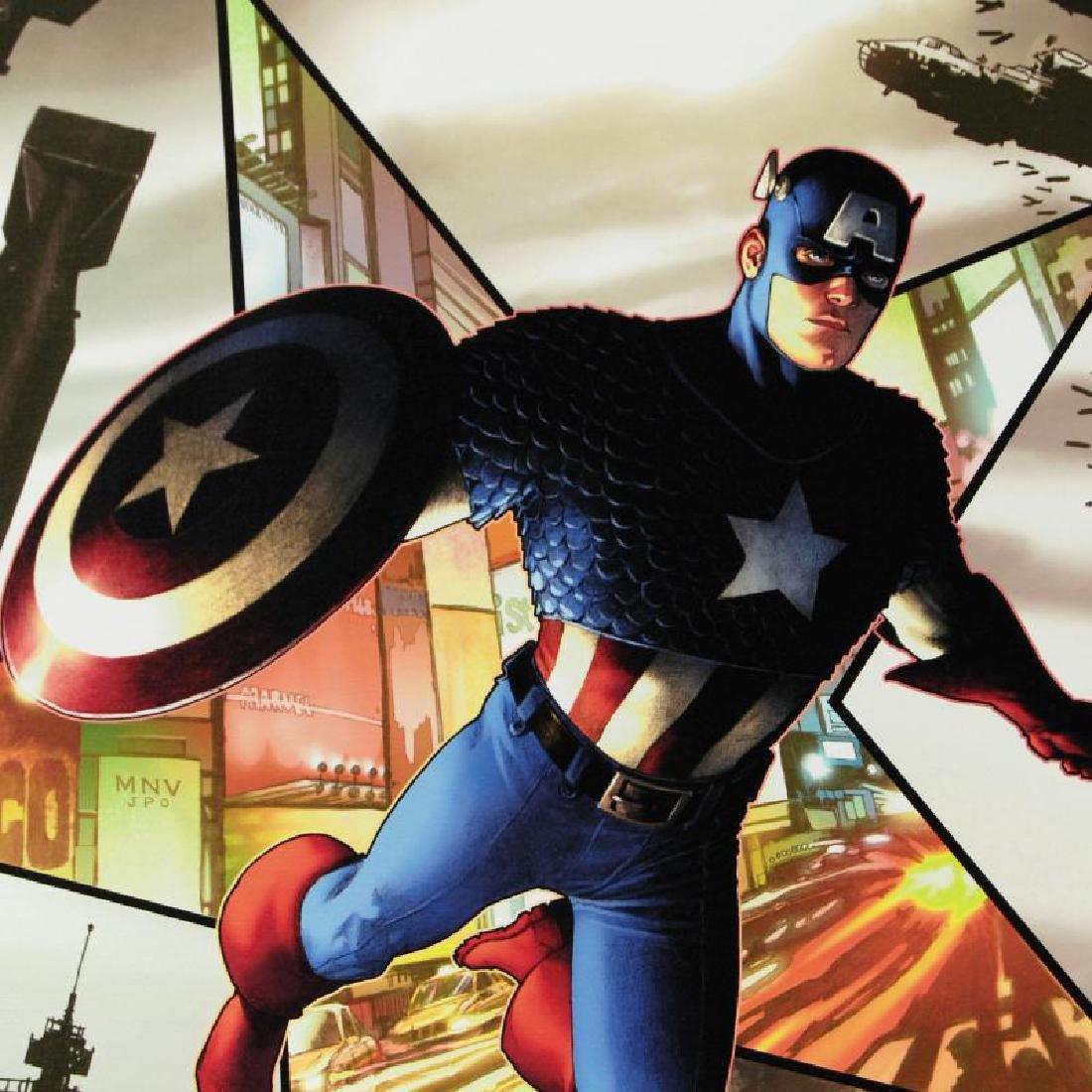 Captain America #1 by Marvel Comics - 2