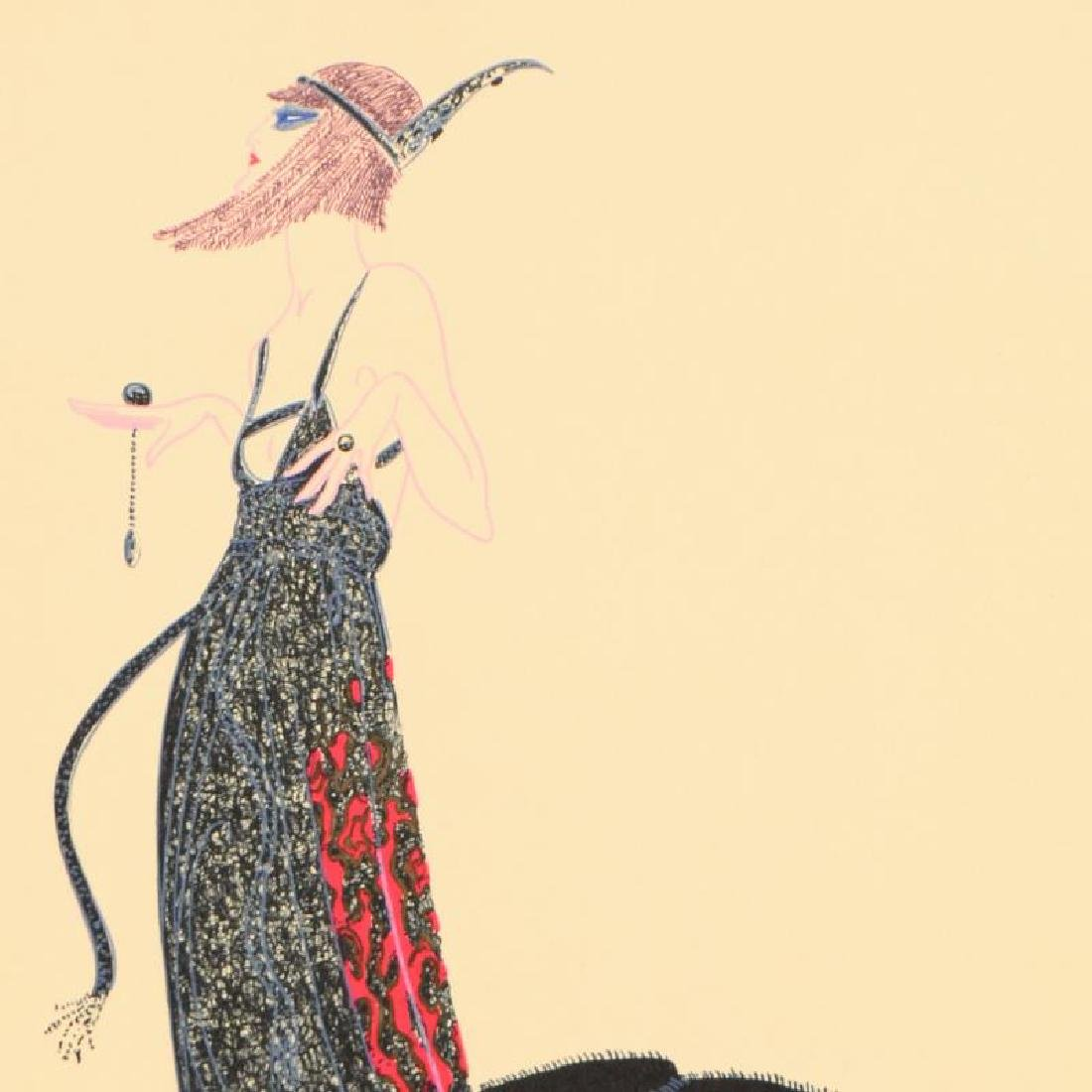 Black Magic by Erte (1892-1990) - 2