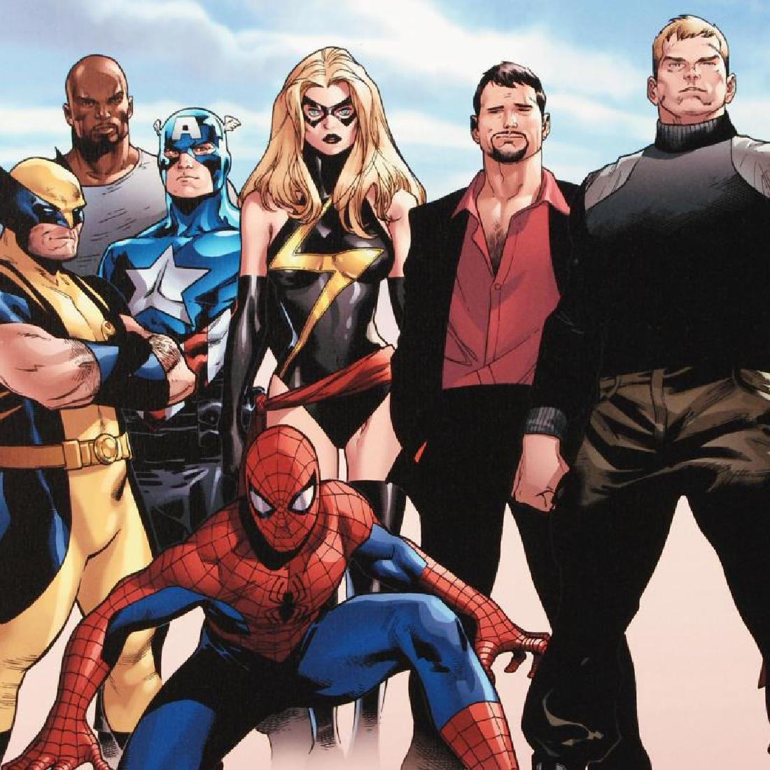 Siege #4 by Marvel Comics - 2
