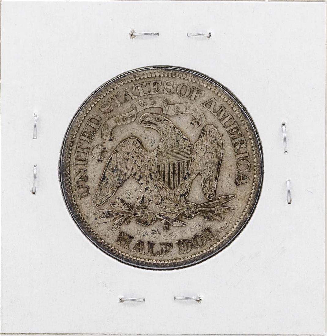 1875-S Liberty Seated Half Dollar Coin - 2