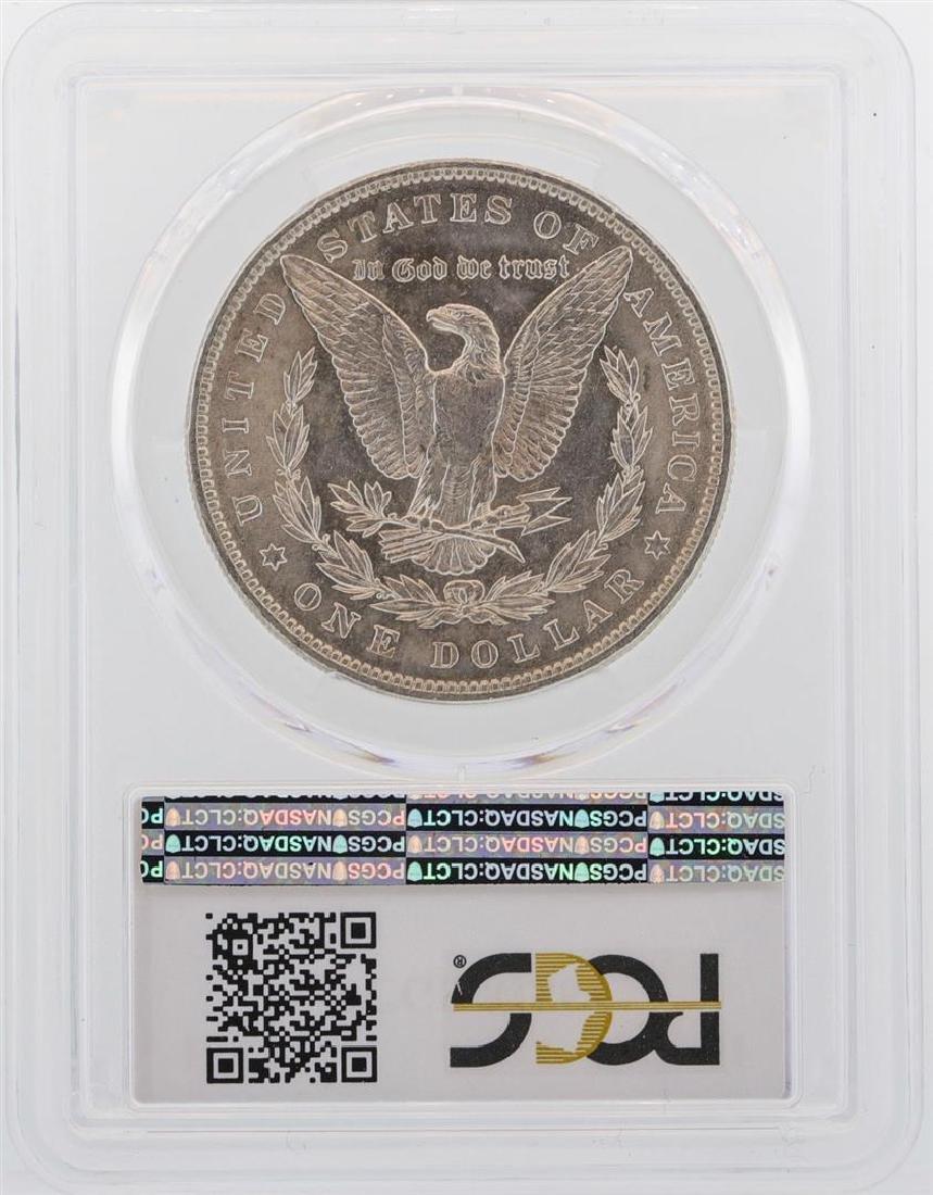 1887 $1 Morgan Silver Dollar Coin PCGS MS64 - 2