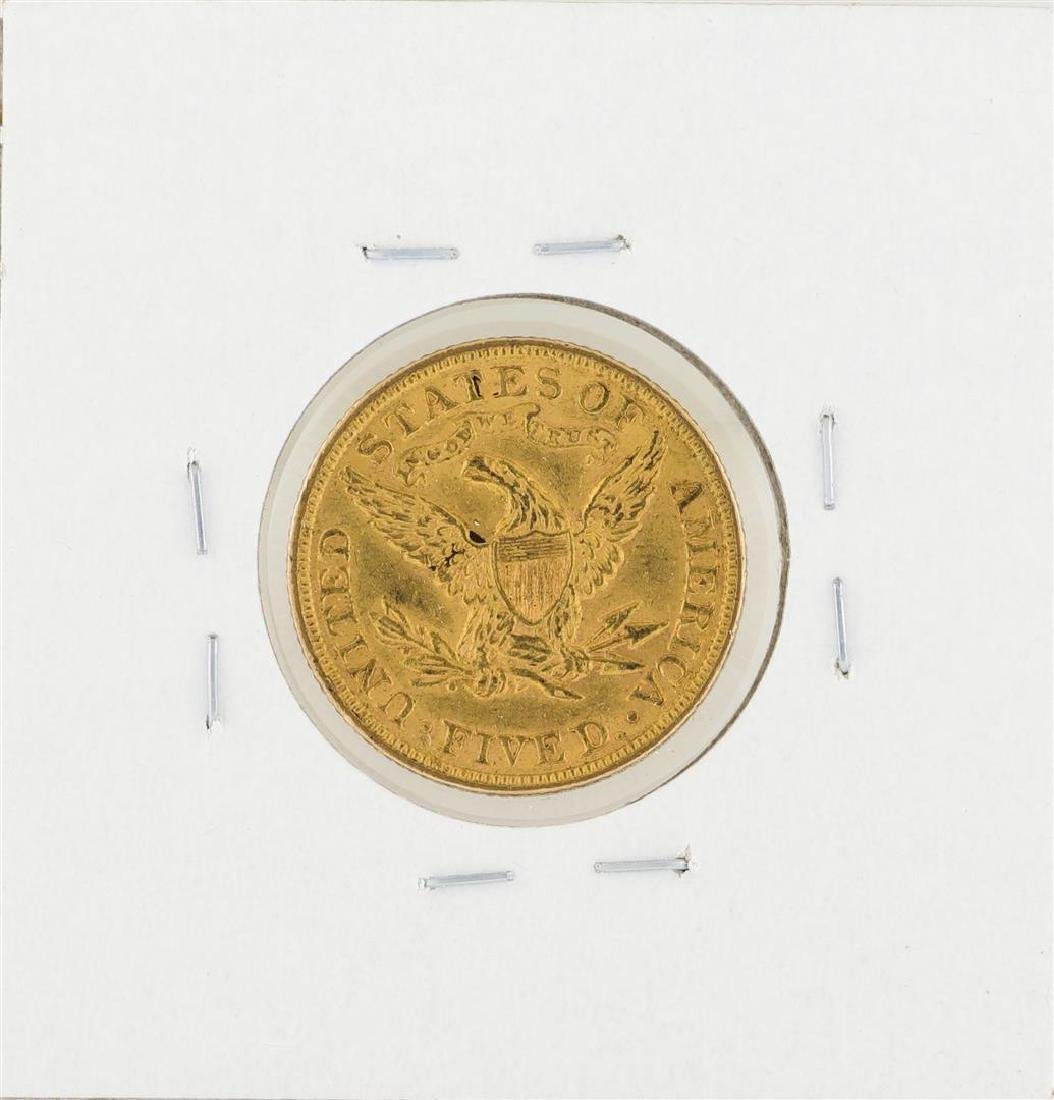 1900 $5 Liberty Head Half Eagle Gold Coin - 2