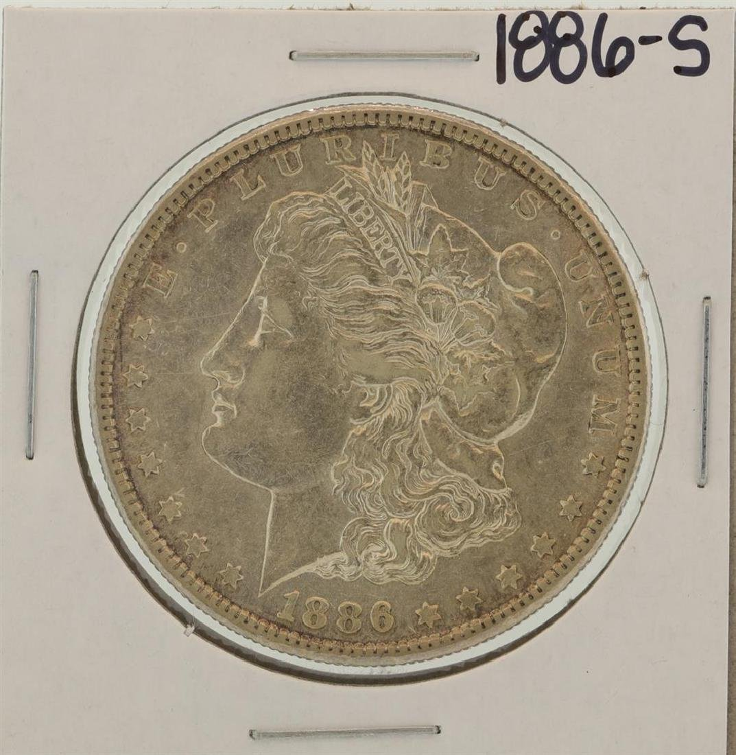 1886-S $1 Morgan Silver Dollar Coin