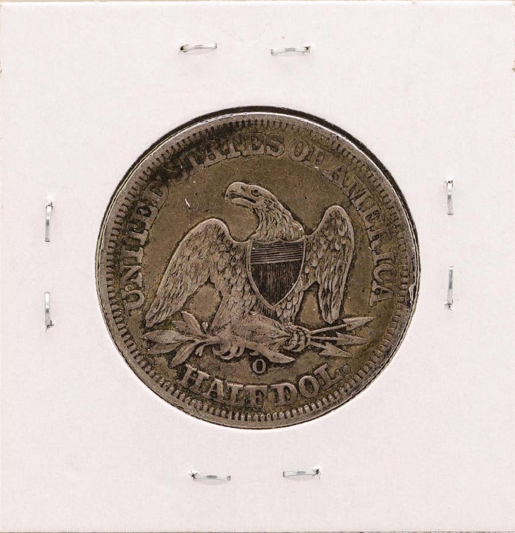 1856-O Seated Liberty Half Dollar Coin - 2