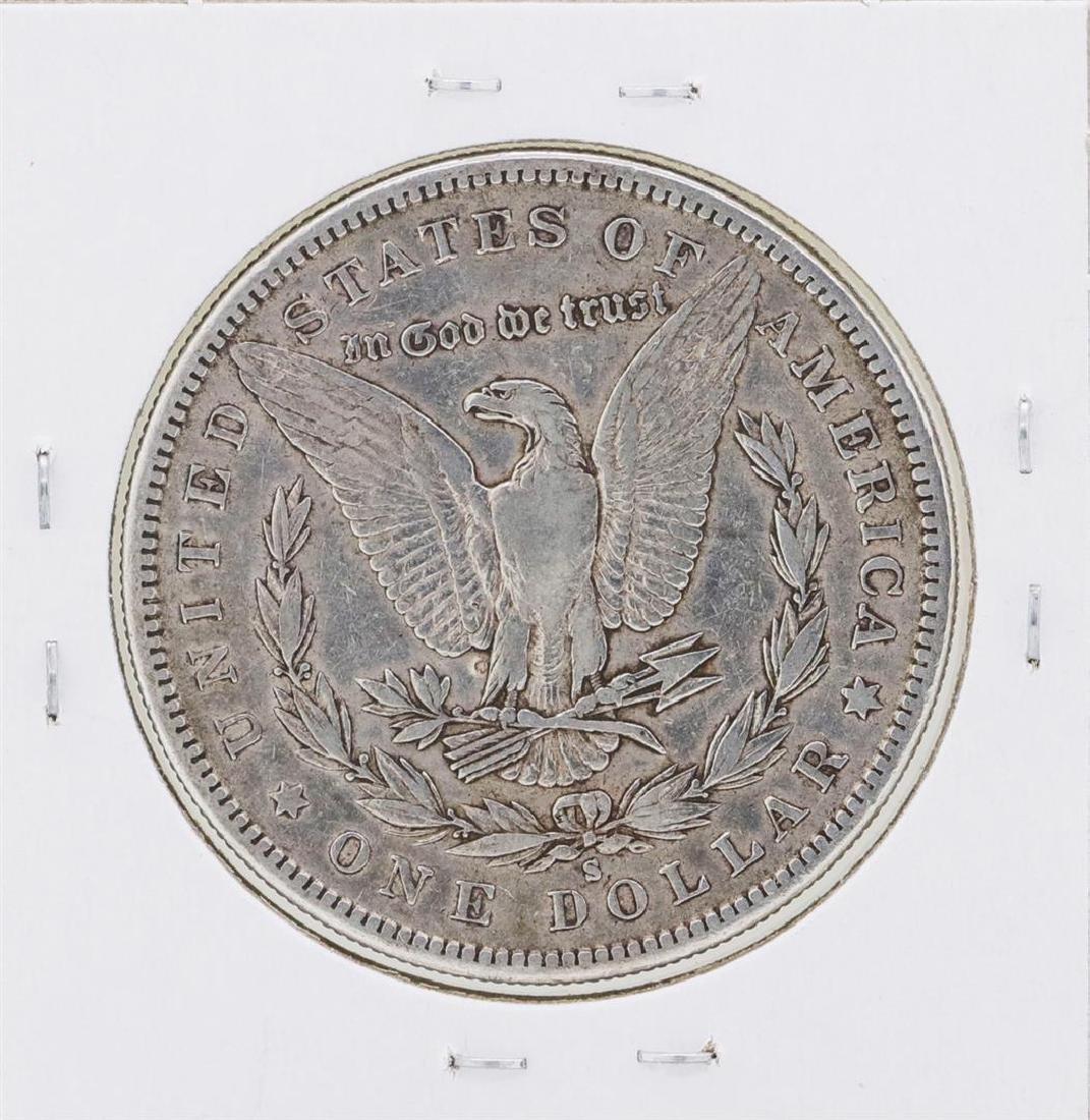 1886-S $1 Morgan Silver Dollar Coin - 2