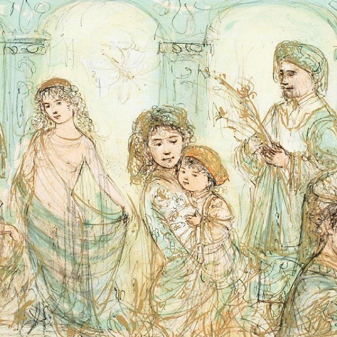 Solomon's Court by Hibel (1917-2014) - 2