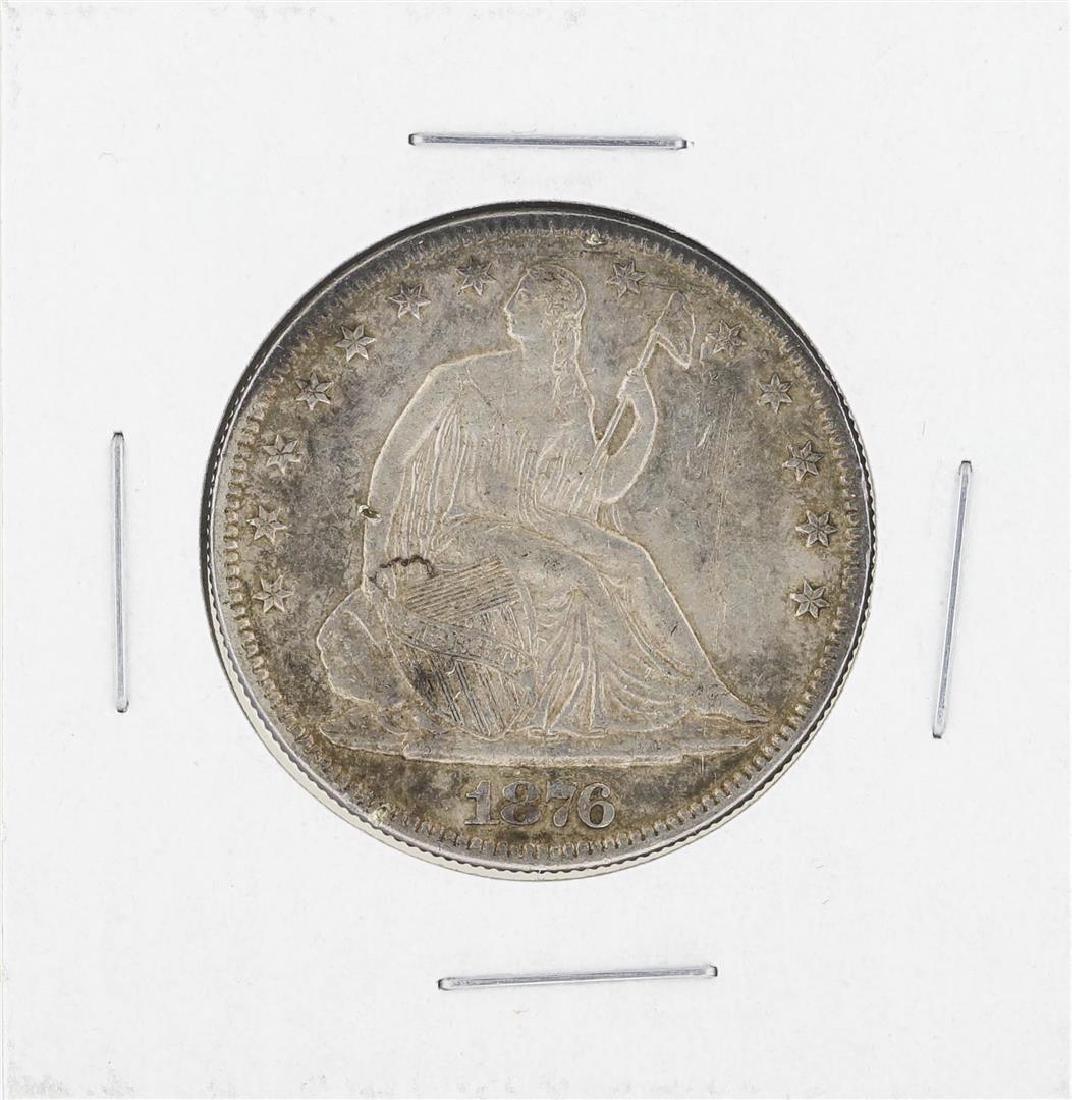 1876 Seated Liberty Half Dollar Coin