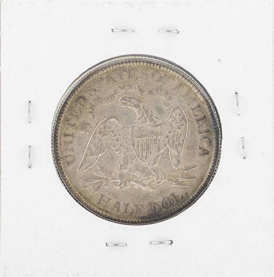 1876 Seated Liberty Half Dollar Coin - 2