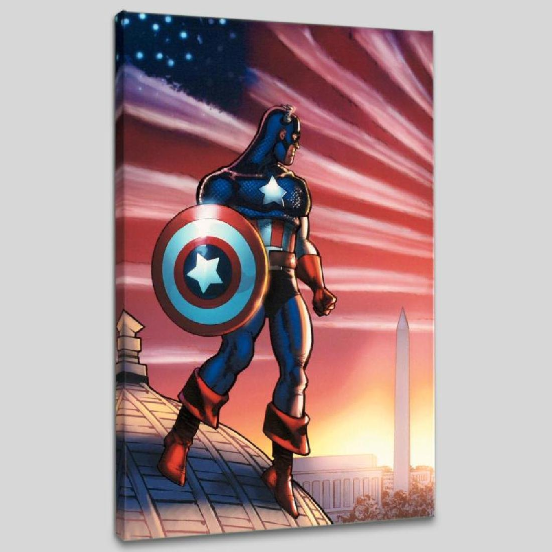 Captain America Theatre of War: America First! #1 by - 3