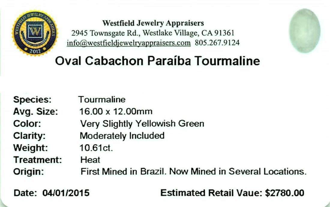 10.61 ctw Cabochon Paraiba Tourmaline Parcel - 2