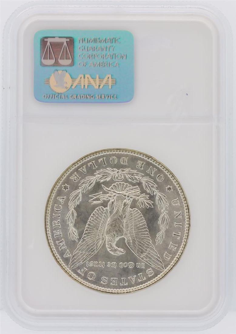1887 NGC MS65 Morgan Silver Dollar - 2