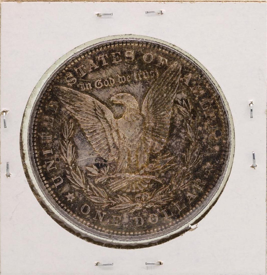 1896 $1 Morgan Silver Dollar Coin - 2