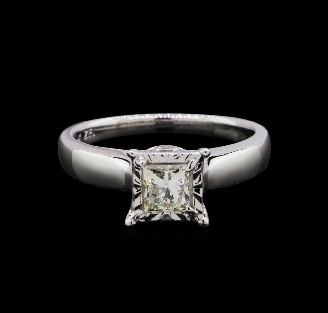 0.93 ctw Diamond Ring - 14KT White Gold - 2