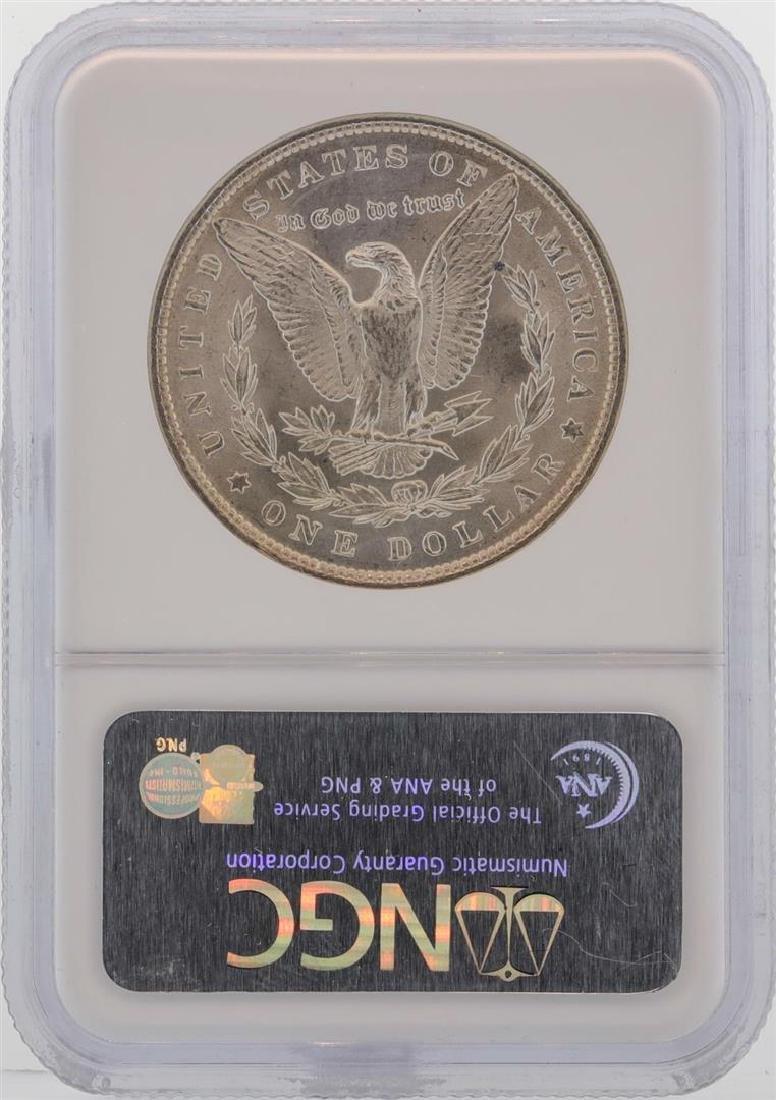 1889 $1 Morgan Silver Dollar Coin NGC MS63 - 2