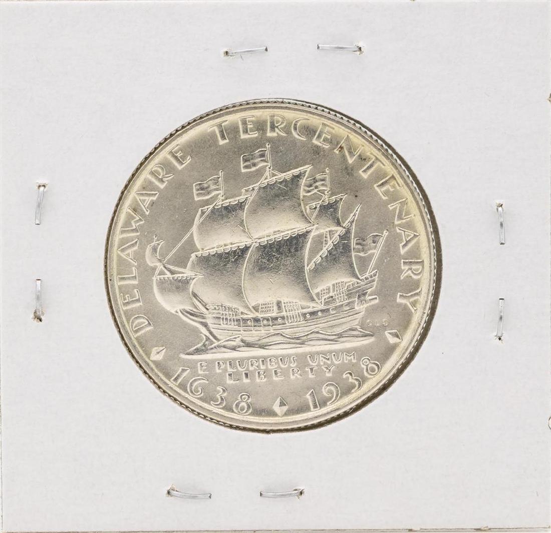 1938 Delaware Centennial Commemorative Half Dollar Coin - 2