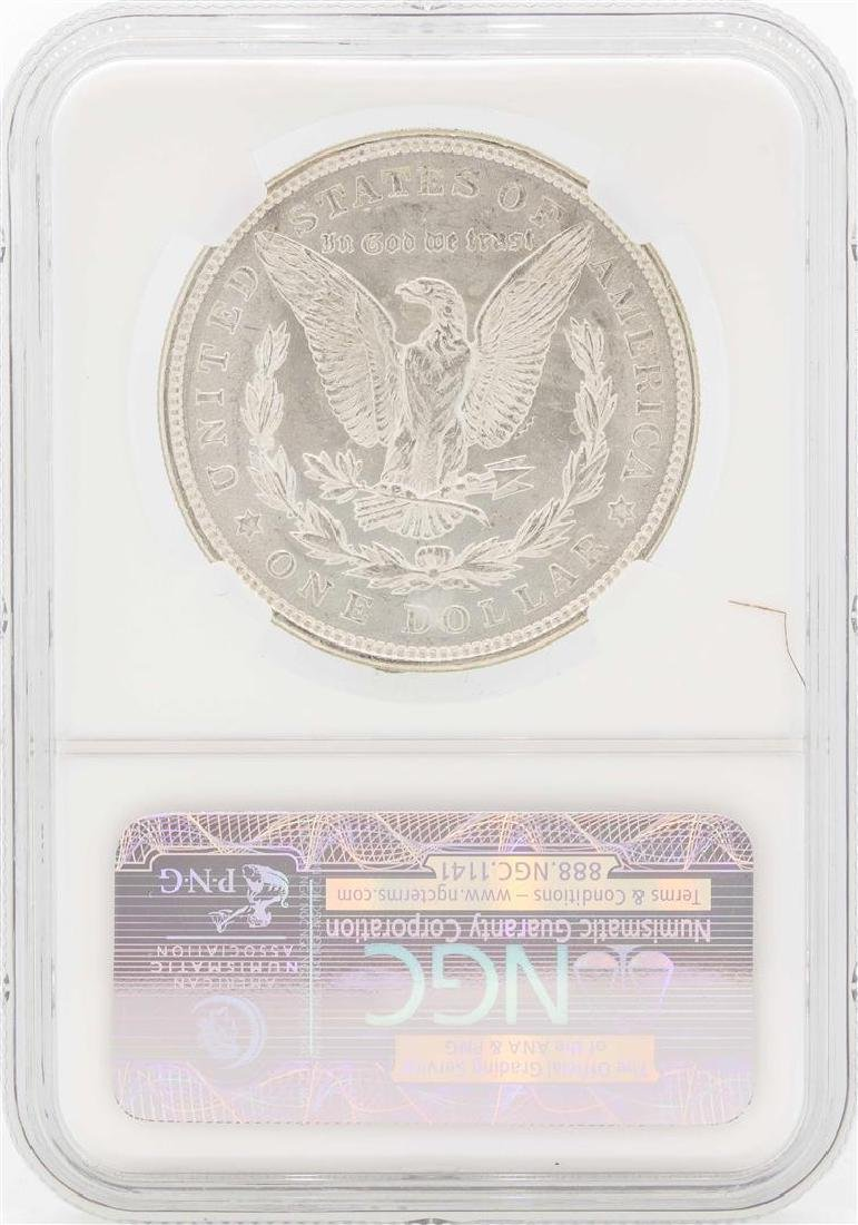 1921 $1 Morgan Silver Dollar Coin NGC MS65 - 2