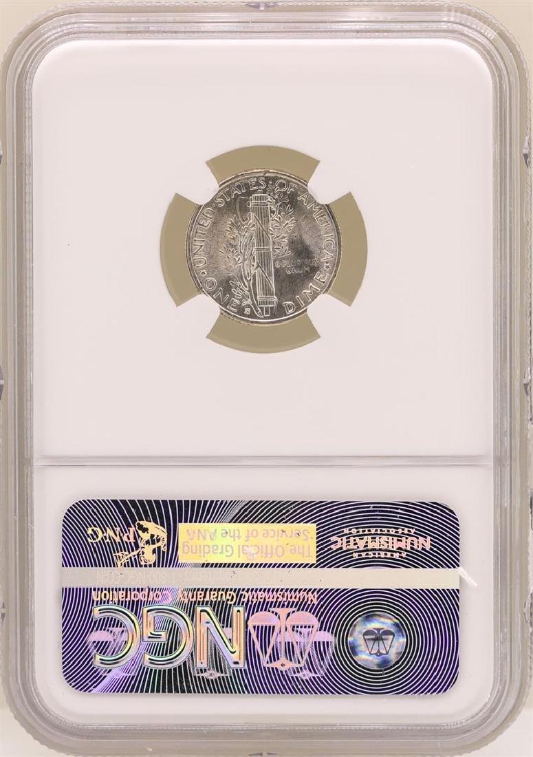 1945-S Mercury Dime Coin NGC MS66FB - 2