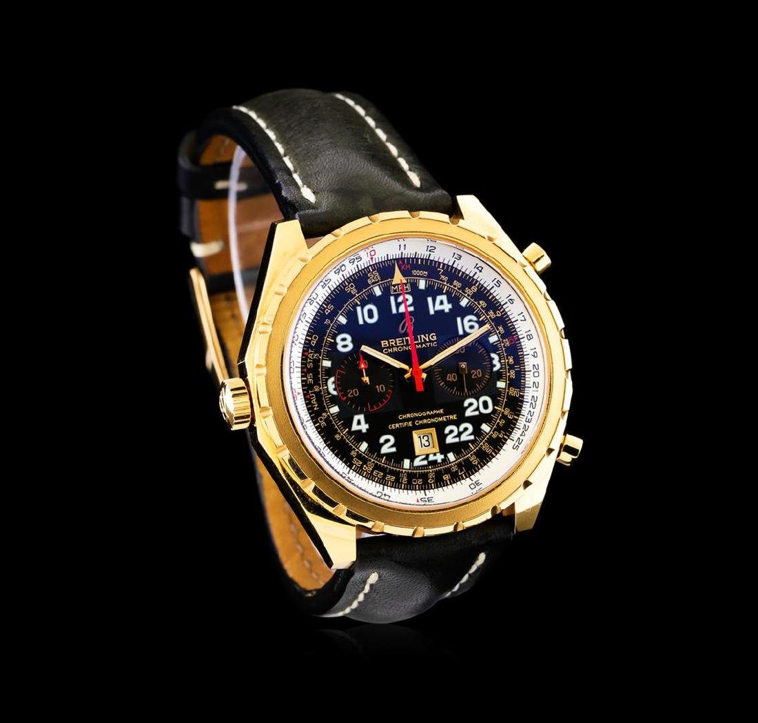 Breitling Chrono-Matic 18KT Rose Gold Men's Watch - 2
