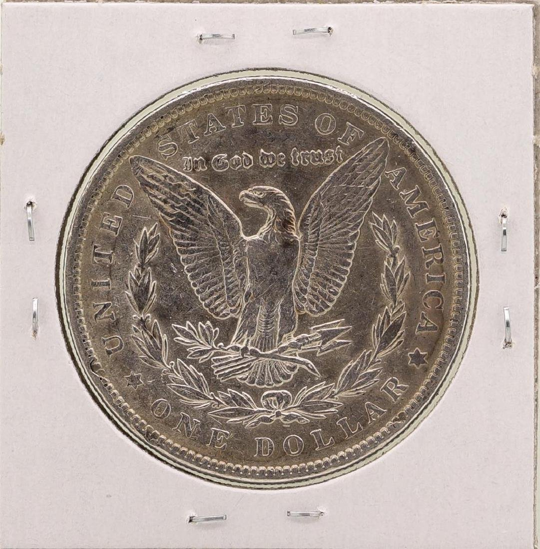1891 $1 Morgan Silver Dollar Coin - 2
