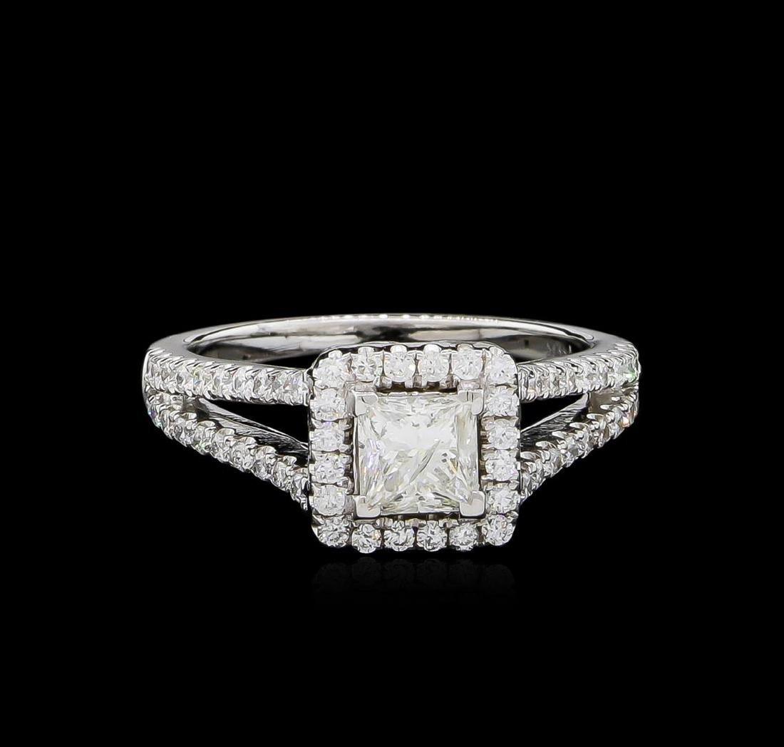 1.41 ctw Diamond Ring - 14KT White Gold - 2