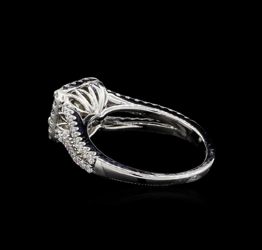 1.41 ctw Diamond Ring - 14KT White Gold - 3