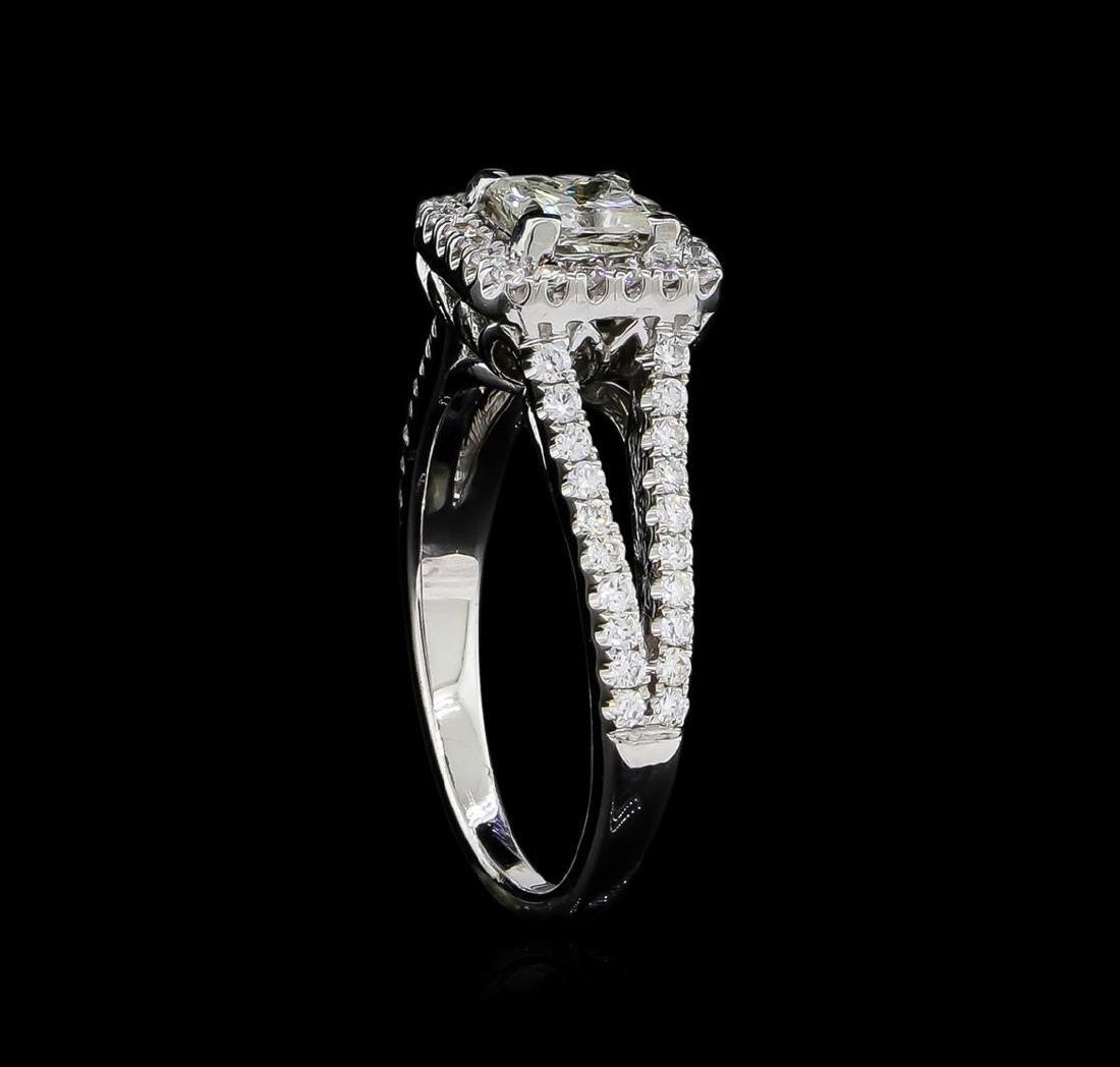 1.41 ctw Diamond Ring - 14KT White Gold - 4
