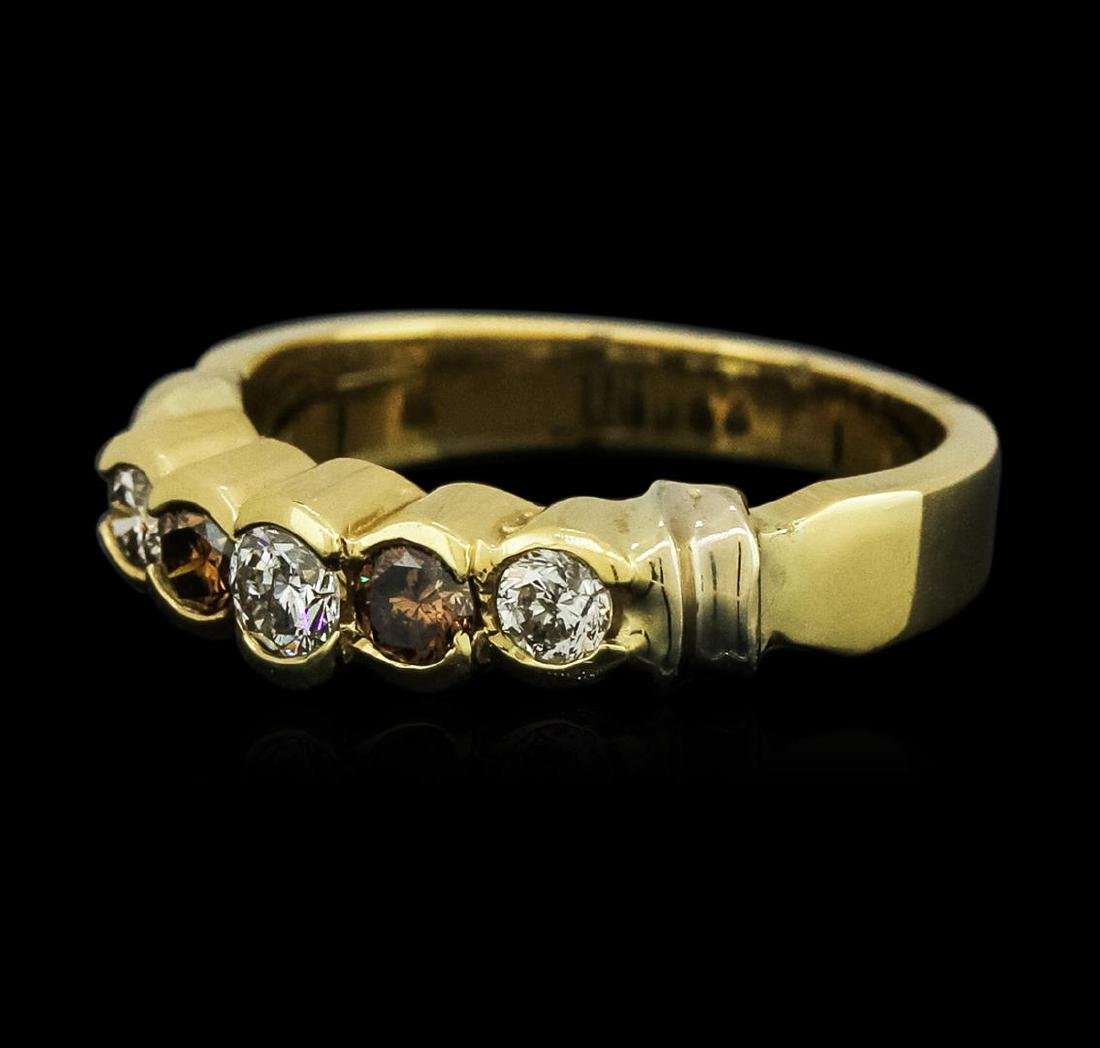 14KT Yellow Gold 0.58 ctw Diamond Ring