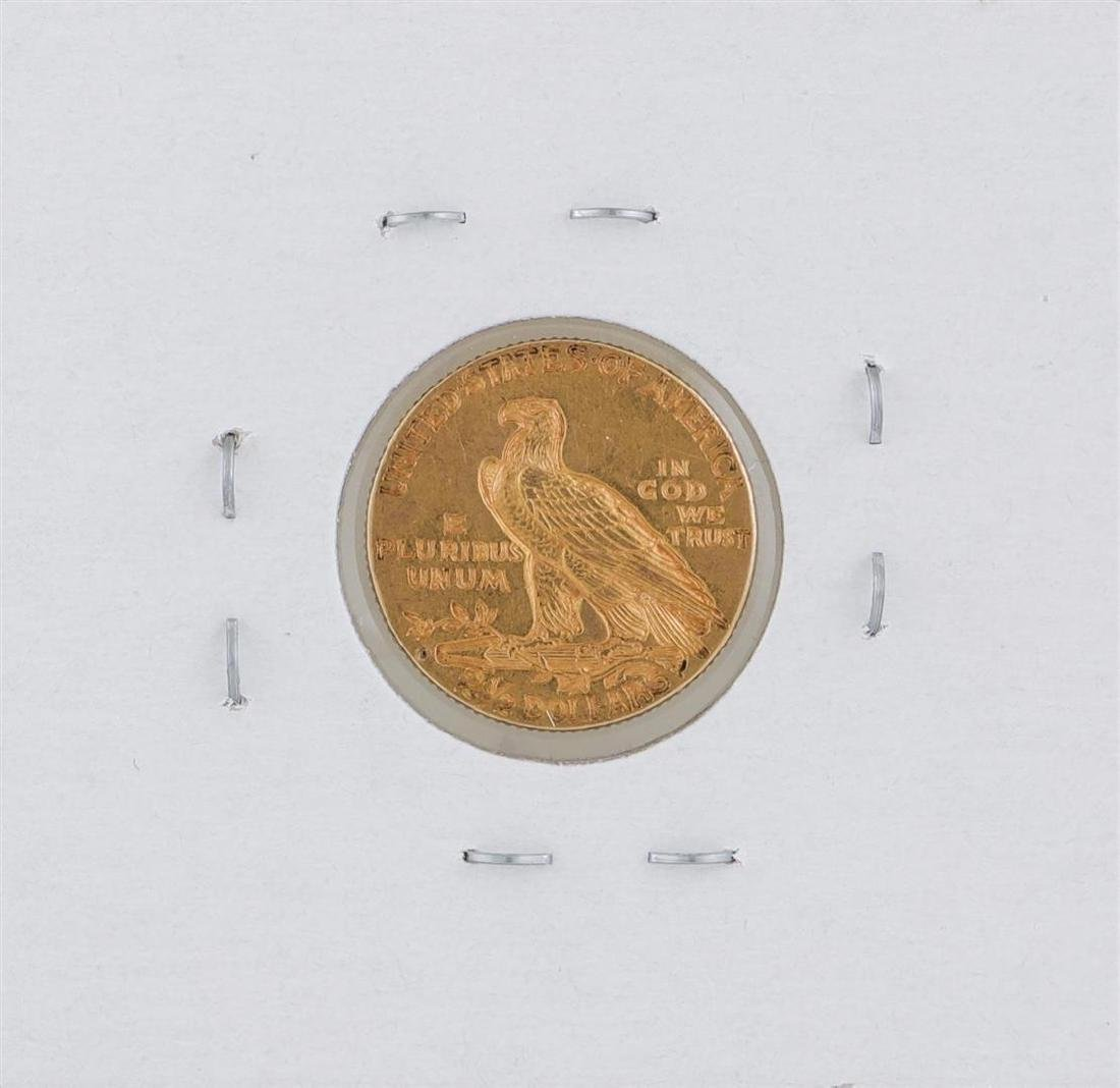 1925-D $2 1/2 Indian Head Quarter Eagle Gold Coin - 2