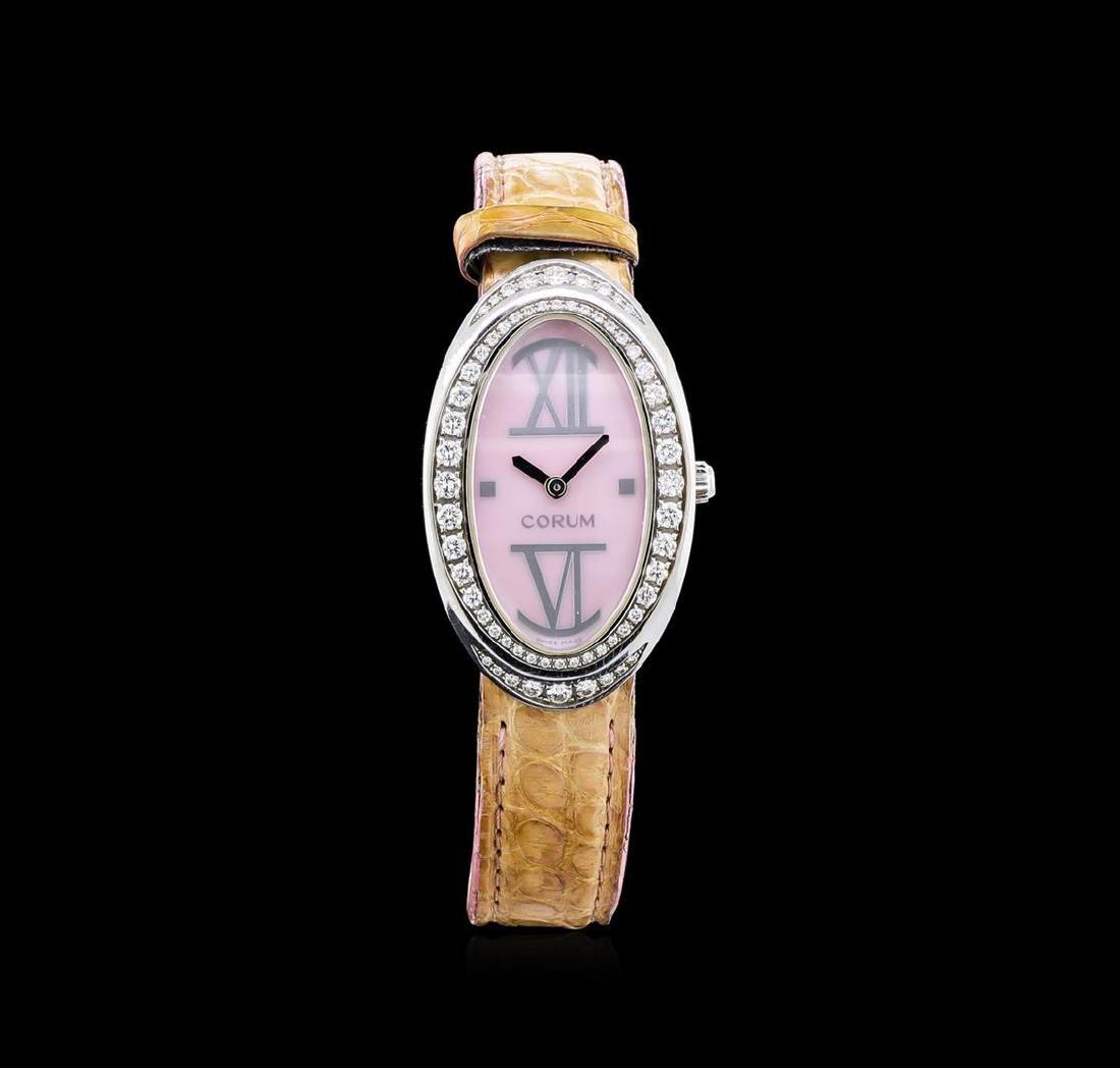Corum Stainless Steel 1.00 ctw Diamond Ladies Watch - 2