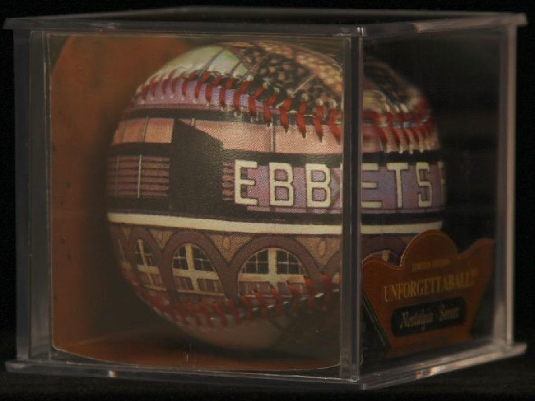 "Unforgettaball! ""Ebbets Field"" Collectable Baseball - 2"