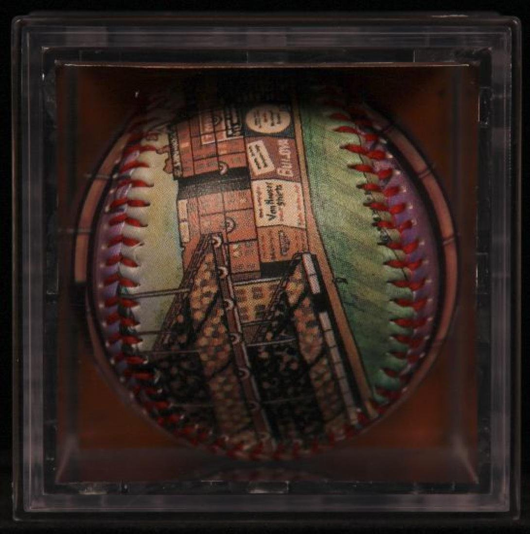 "Unforgettaball! ""Ebbets Field"" Collectable Baseball - 4"