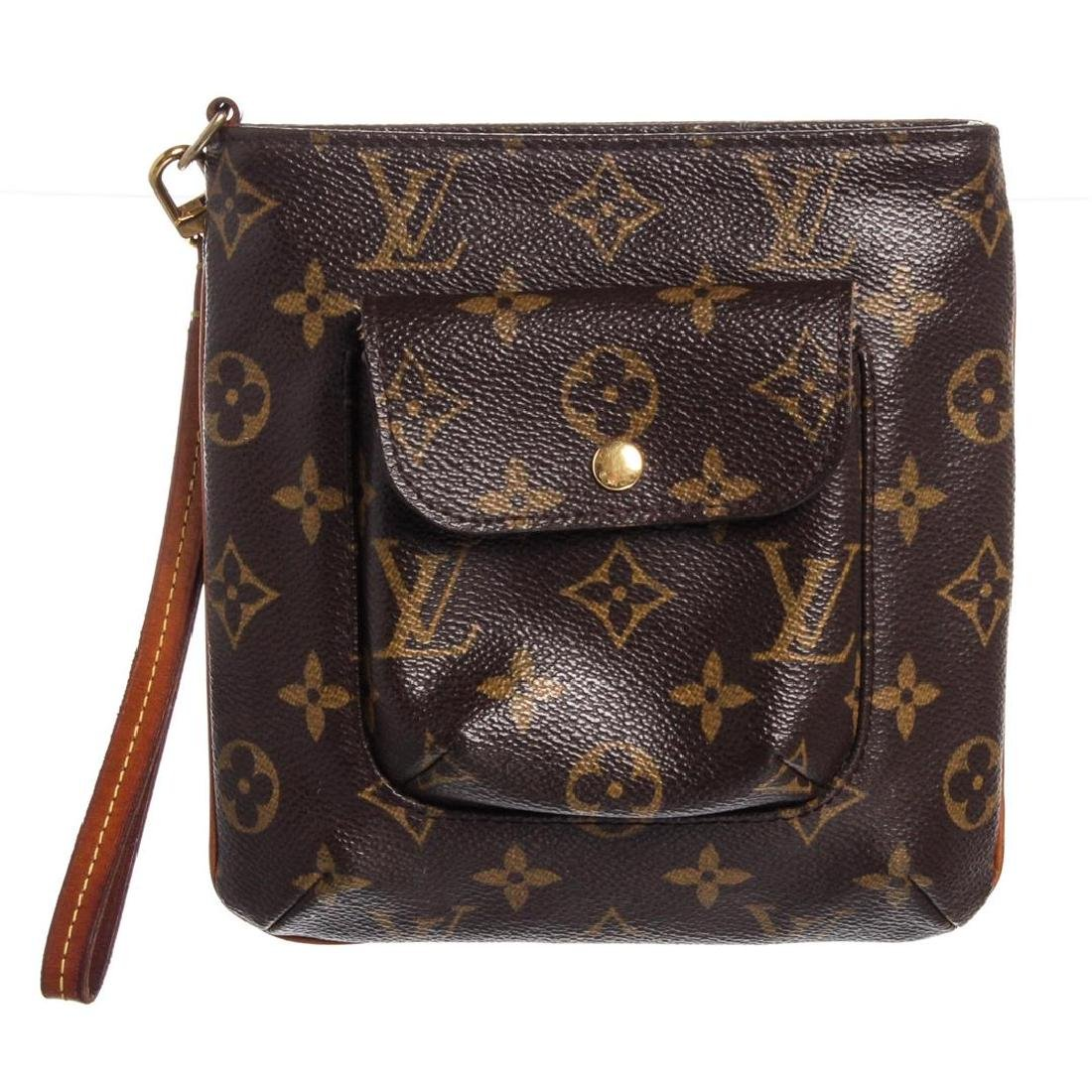 Louis Vuitton Monogram Canvas Leather Partition