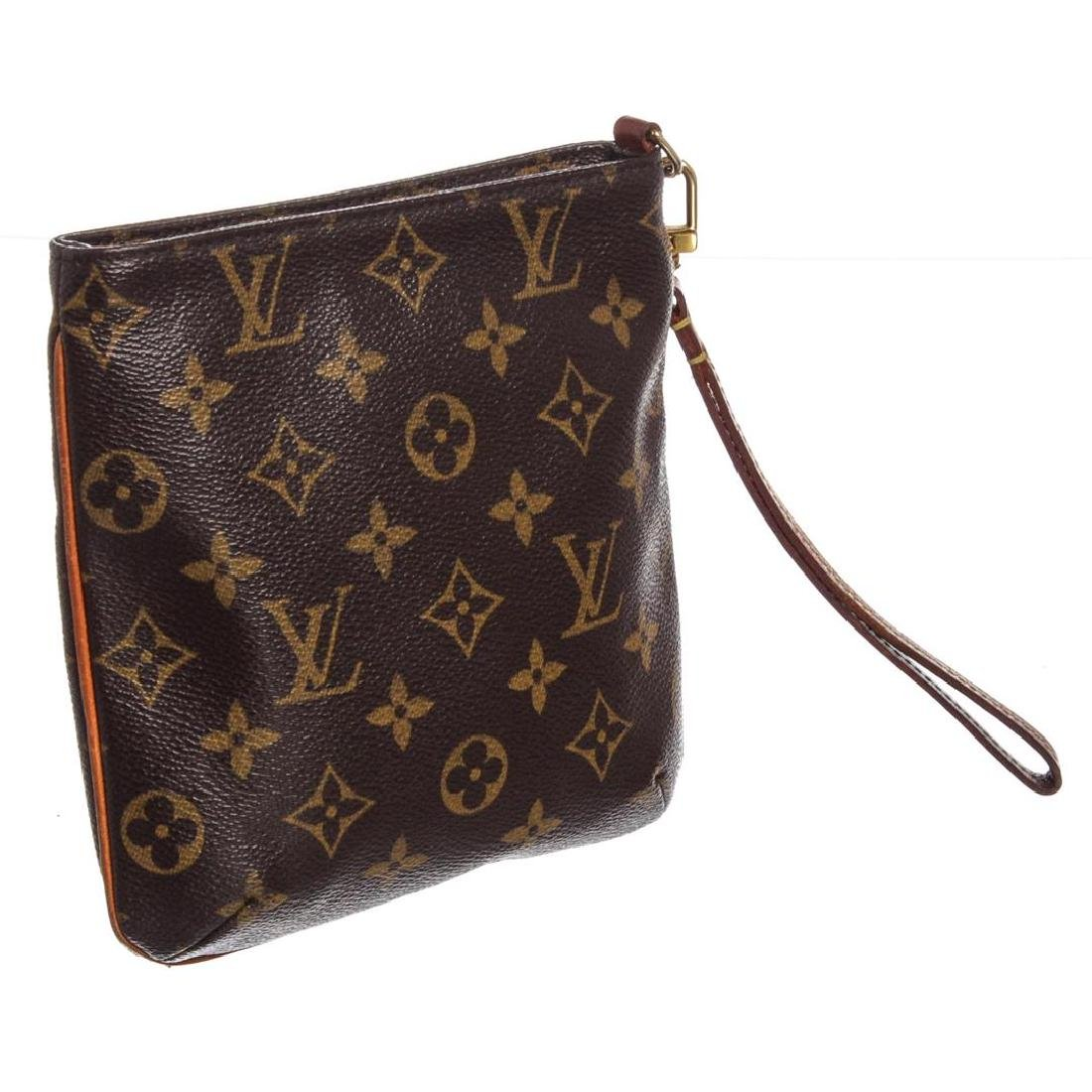 Louis Vuitton Monogram Canvas Leather Partition - 2