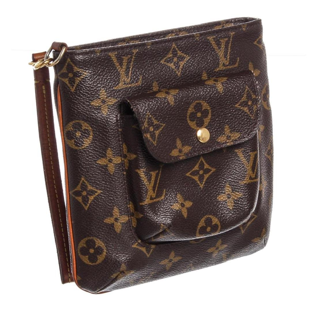 Louis Vuitton Monogram Canvas Leather Partition - 3