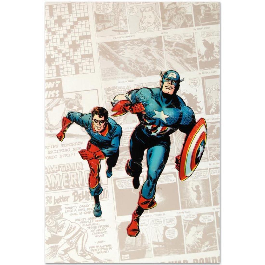 Captain America: The 1940s Newspaper Strip by Marvel