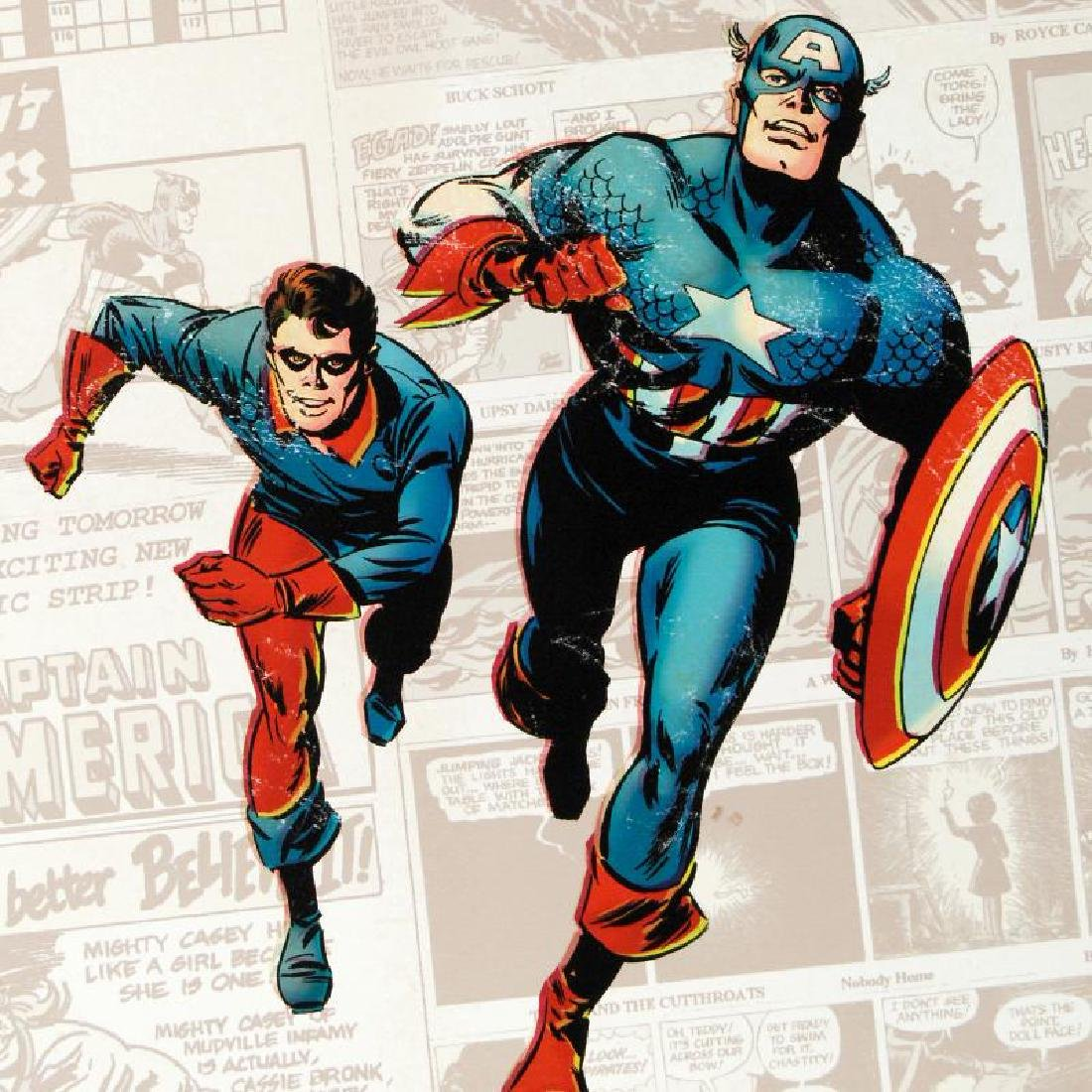 Captain America: The 1940s Newspaper Strip by Marvel - 2