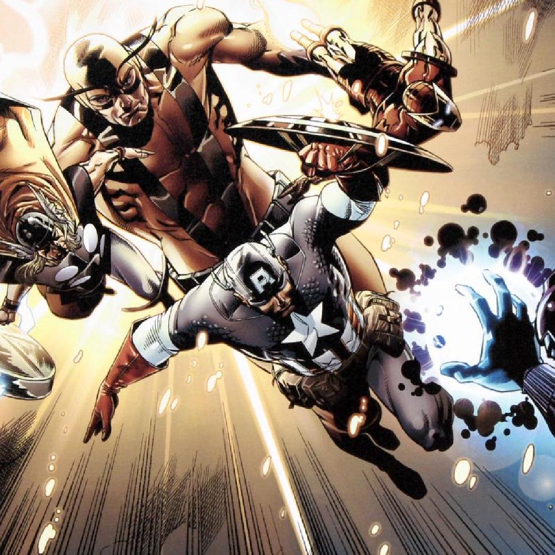 Captain America: Man Out Of Time #5 by Marvel Comics - 2