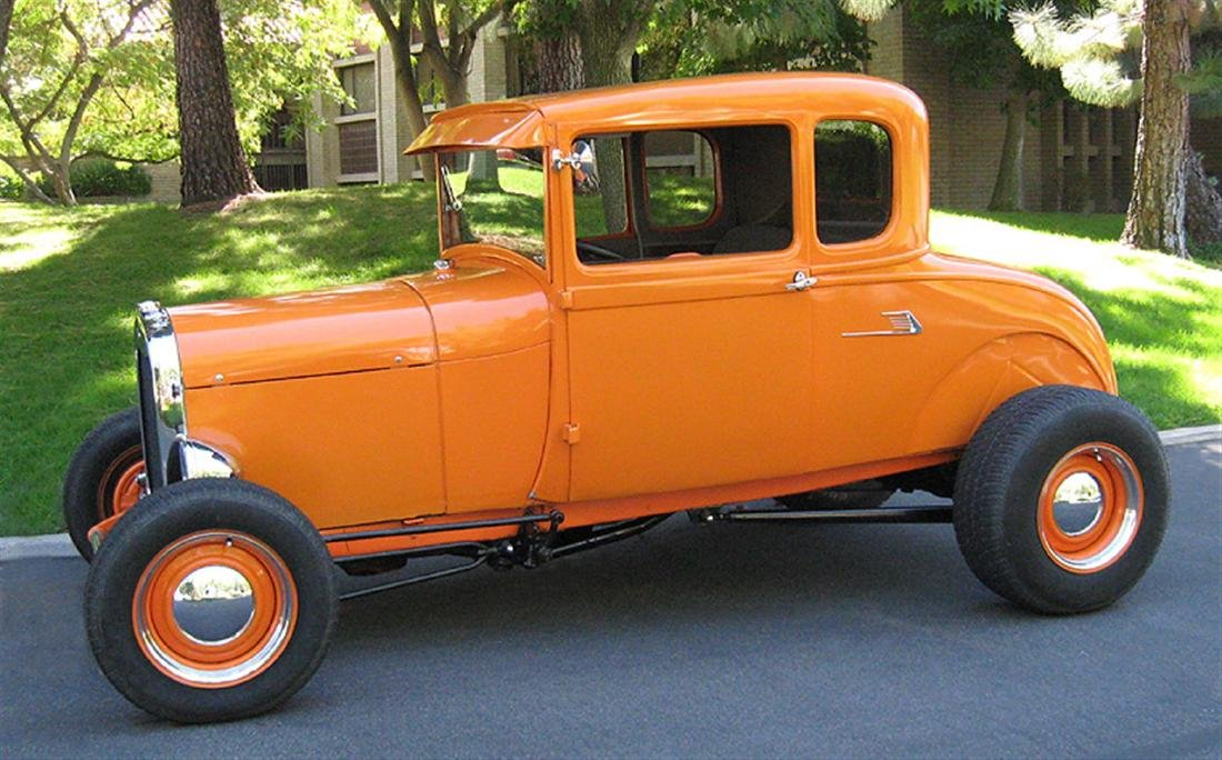 1929 Ford Highboy Coupe Hotrod