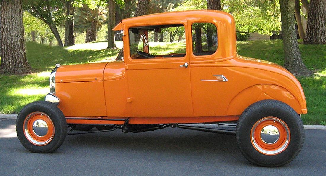 1929 Ford Highboy Coupe Hotrod - 2