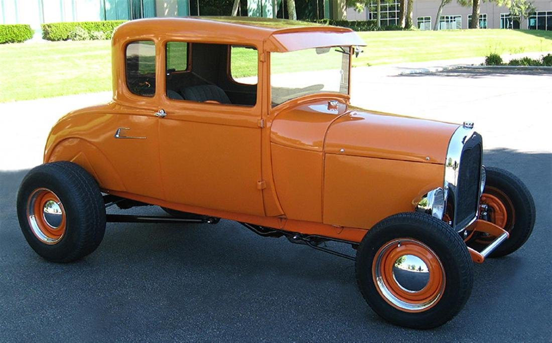 1929 Ford Highboy Coupe Hotrod - 4