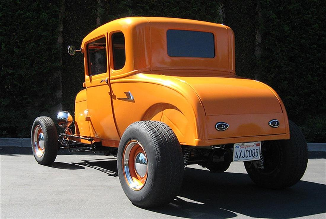 1929 Ford Highboy Coupe Hotrod - 6