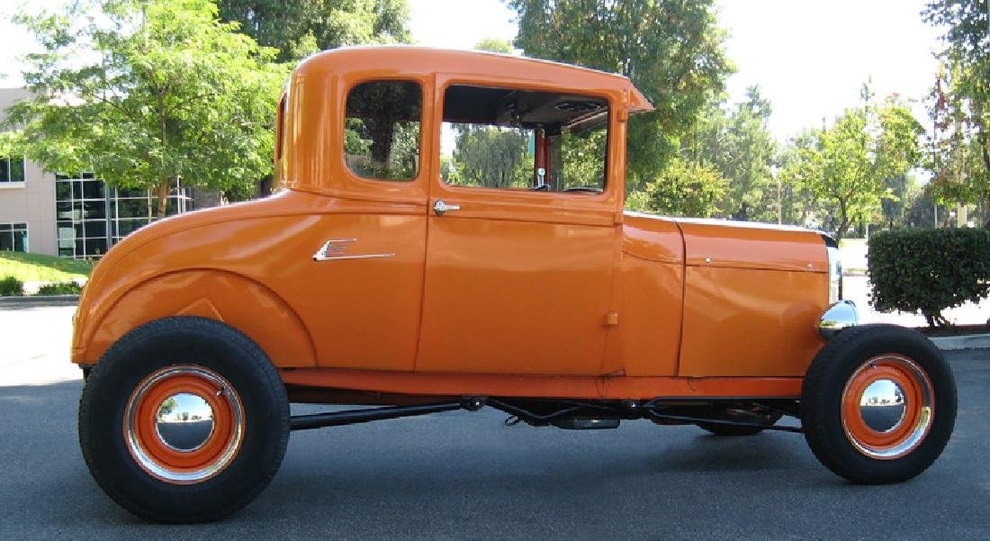 1929 Ford Highboy Coupe Hotrod - 7