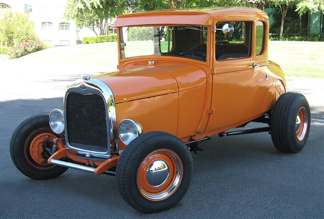 1929 Ford Highboy Coupe Hotrod - 8